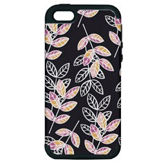 Winter Beautiful Foliage  Apple Iphone 5 Hardshell Case (pc+silicone) by DanaeStudio
