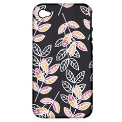 Winter Beautiful Foliage  Apple Iphone 4/4s Hardshell Case (pc+silicone) by DanaeStudio