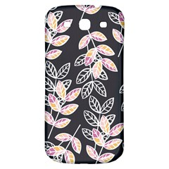 Winter Beautiful Foliage  Samsung Galaxy S3 S Iii Classic Hardshell Back Case by DanaeStudio