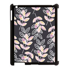 Winter Beautiful Foliage  Apple Ipad 3/4 Case (black) by DanaeStudio