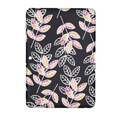 Winter Beautiful Foliage  Samsung Galaxy Tab 2 (10 1 ) P5100 Hardshell Case  by DanaeStudio