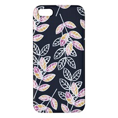 Winter Beautiful Foliage  Iphone 5s/ Se Premium Hardshell Case by DanaeStudio
