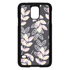 Winter Beautiful Foliage  Samsung Galaxy S5 Case (black) by DanaeStudio