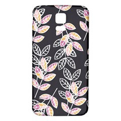 Winter Beautiful Foliage  Samsung Galaxy S5 Back Case (white) by DanaeStudio