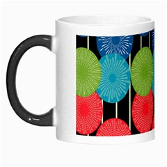 Vibrant Retro Pattern Morph Mugs