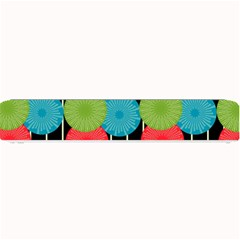 Vibrant Retro Pattern Small Bar Mats
