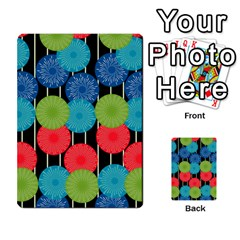 Vibrant Retro Pattern Multi-purpose Cards (Rectangle)