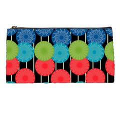 Vibrant Retro Pattern Pencil Cases by DanaeStudio