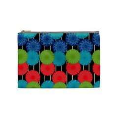 Vibrant Retro Pattern Cosmetic Bag (Medium)