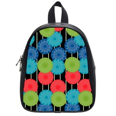 Vibrant Retro Pattern School Bags (Small)