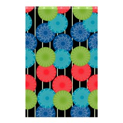 Vibrant Retro Pattern Shower Curtain 48  X 72  (small)  by DanaeStudio