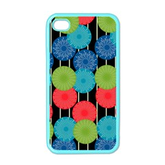 Vibrant Retro Pattern Apple iPhone 4 Case (Color)