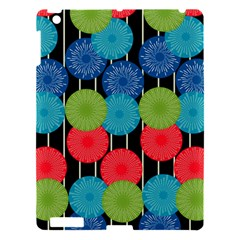 Vibrant Retro Pattern Apple iPad 3/4 Hardshell Case