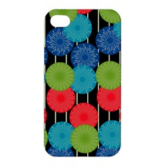 Vibrant Retro Pattern Apple iPhone 4/4S Premium Hardshell Case
