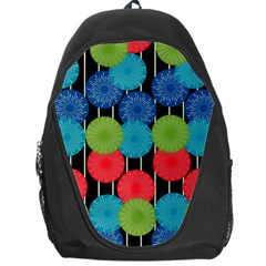 Vibrant Retro Pattern Backpack Bag