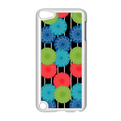 Vibrant Retro Pattern Apple iPod Touch 5 Case (White)