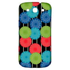 Vibrant Retro Pattern Samsung Galaxy S3 S Iii Classic Hardshell Back Case by DanaeStudio