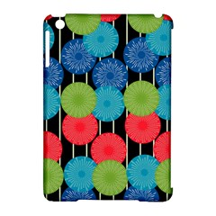 Vibrant Retro Pattern Apple iPad Mini Hardshell Case (Compatible with Smart Cover)