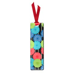 Vibrant Retro Pattern Small Book Marks