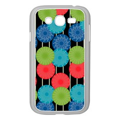 Vibrant Retro Pattern Samsung Galaxy Grand DUOS I9082 Case (White)