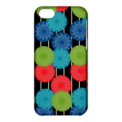 Vibrant Retro Pattern Apple iPhone 5C Hardshell Case