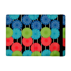 Vibrant Retro Pattern Ipad Mini 2 Flip Cases by DanaeStudio