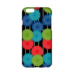 Vibrant Retro Pattern Apple iPhone 6/6S Hardshell Case
