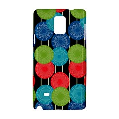 Vibrant Retro Pattern Samsung Galaxy Note 4 Hardshell Case