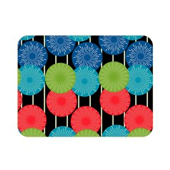 Vibrant Retro Pattern Double Sided Flano Blanket (Mini)