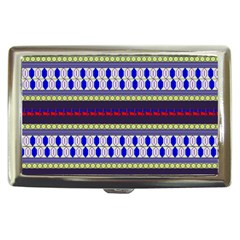Colorful Retro Geometric Pattern Cigarette Money Cases by DanaeStudio
