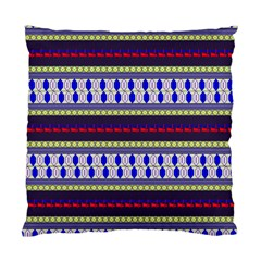 Colorful Retro Geometric Pattern Standard Cushion Case (one Side) by DanaeStudio