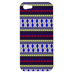 Colorful Retro Geometric Pattern Apple Iphone 5 Hardshell Case by DanaeStudio