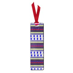 Colorful Retro Geometric Pattern Small Book Marks by DanaeStudio