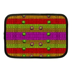 A Wonderful Rainbow And Stars Netbook Case (medium)  by pepitasart