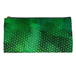 Ombre Green Abstract Forest Pencil Cases Front