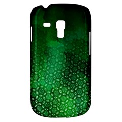 Ombre Green Abstract Forest Samsung Galaxy S3 Mini I8190 Hardshell Case by DanaeStudio