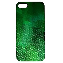Ombre Green Abstract Forest Apple Iphone 5 Hardshell Case With Stand by DanaeStudio