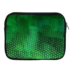 Ombre Green Abstract Forest Apple Ipad 2/3/4 Zipper Cases by DanaeStudio