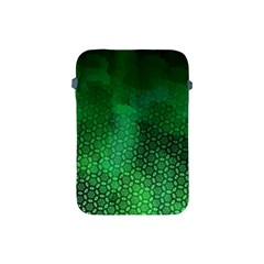 Ombre Green Abstract Forest Apple Ipad Mini Protective Soft Cases by DanaeStudio