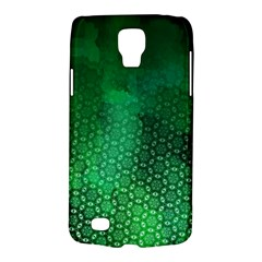 Ombre Green Abstract Forest Galaxy S4 Active by DanaeStudio