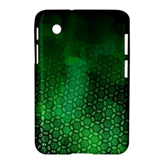 Ombre Green Abstract Forest Samsung Galaxy Tab 2 (7 ) P3100 Hardshell Case  by DanaeStudio