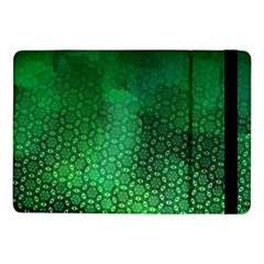 Ombre Green Abstract Forest Samsung Galaxy Tab Pro 10 1  Flip Case by DanaeStudio