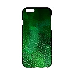 Ombre Green Abstract Forest Apple Iphone 6/6s Hardshell Case by DanaeStudio