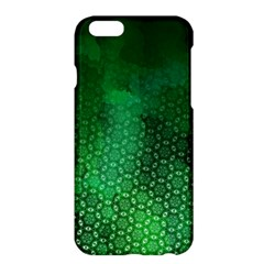 Ombre Green Abstract Forest Apple Iphone 6 Plus/6s Plus Hardshell Case by DanaeStudio
