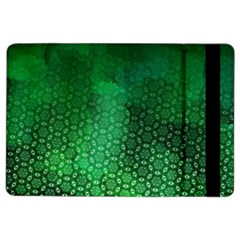 Ombre Green Abstract Forest Ipad Air 2 Flip by DanaeStudio