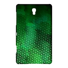 Ombre Green Abstract Forest Samsung Galaxy Tab S (8 4 ) Hardshell Case  by DanaeStudio