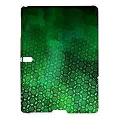Ombre Green Abstract Forest Samsung Galaxy Tab S (10 5 ) Hardshell Case  by DanaeStudio