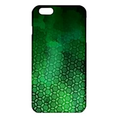 Ombre Green Abstract Forest Iphone 6 Plus/6s Plus Tpu Case by DanaeStudio