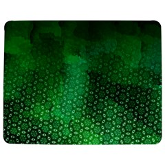 Ombre Green Abstract Forest Jigsaw Puzzle Photo Stand (rectangular) by DanaeStudio
