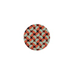 Modernist Geometric Tiles 1  Mini Buttons by DanaeStudio